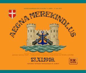 2013. Aegna merekindlus - unustatud suurtükipositsioonid Tallinna kesklinnas