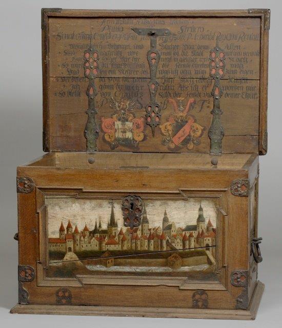 Tallinna magistraadi laegas aastast 1688 oli Tallinna Linnamuuseumi üks esimesi eksponaate.