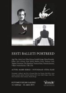 Stina Kase Eesti balleti portreed