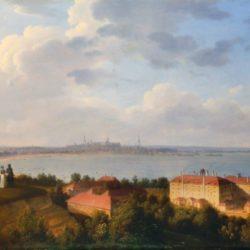 Vaade Tallinnale suhkruvabriku juurest Maarjamäelt, 1835