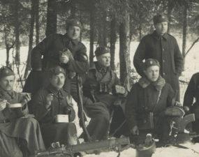 Grupp Eesti Rahvaväe sõdureid, 1919. aasta lõpp