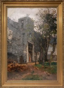 Tallitorni kujutav maal Linnamuuseumi kunstikogus