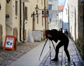 Piltnik fotomuuseumi kaameraga