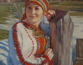 Stanislav Antipovi maalil Ljudmila Yamurzina