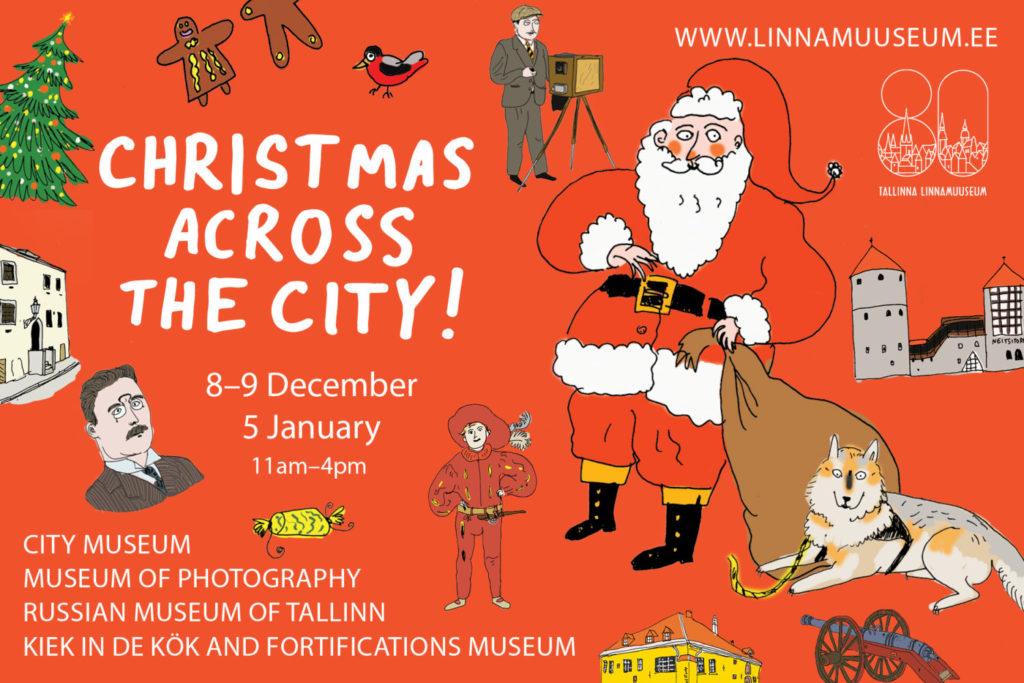 Christmas game poster