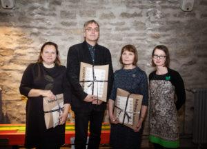 Tallinna Linnamuuseum tunnustas 2018. aasta parimaid kolleege