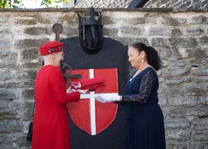 """""""Tallinn 800"""" galerii: Taani kuninganna Margrethe Kiek in de Kökis näituse avamisel"""