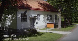 Vaata, kuidas Peeter I maja Kadrioru pargis näeb välja linnulennult!