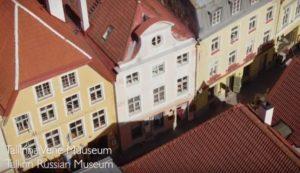 Vaata, kuidas Tallinna vene muuseum Pikal tänaval näeb välja linnulennult!