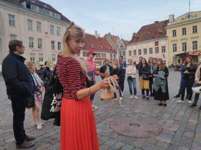 """Telli sekskursioon """"Kõlvatu Tallinn"""" sõpruskonnale!"""