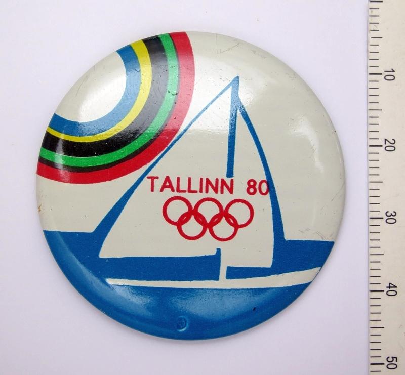 olümpiaregati märk tallinn 80