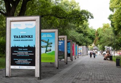 """<b>""""TALSINKI ühised mälestused"""".</b> Tallinna Linnamuuseumi näitus Tammsaare pargis"""